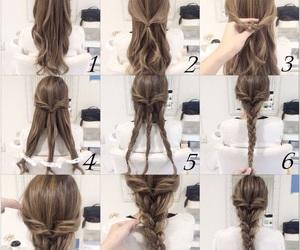 hair, DIY, and hi image