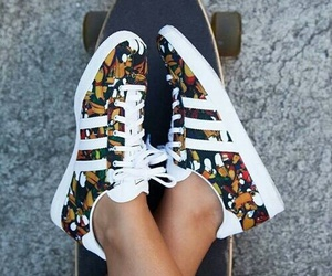 adidas, shoes, and skate image