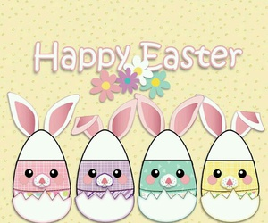 bunny, easter, and Pascua image