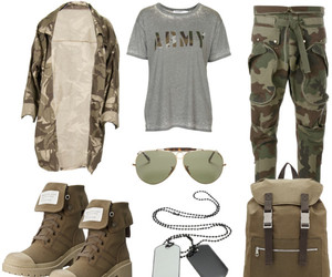 army, boots, and fashion image