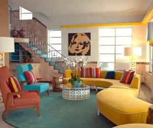 color, diseÑo de interiores, and clasico image