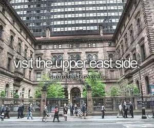 gossip girl, Upper East Side, and new york image