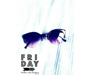 colors, friday, and sunglasses image