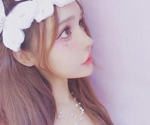 kawaii, 龙猫之女, and 美少女 image