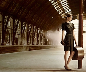 fashion and train station image