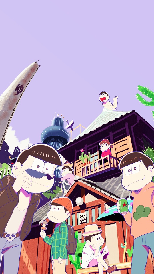 Wallpaper Iphone Osomatsu San Uploaded By Nobita Morada