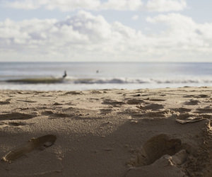 beach, cost, and sea image