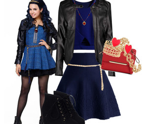 clothes, disney, and evie image