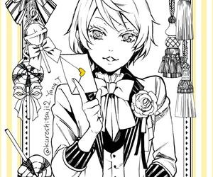 kuroshitsuji, black butler, and alois image