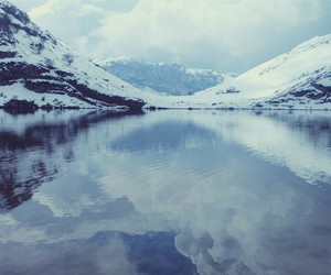 cold, snow, and tumblr image