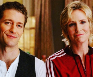 glee, matthew morrison, and sue sylvester image