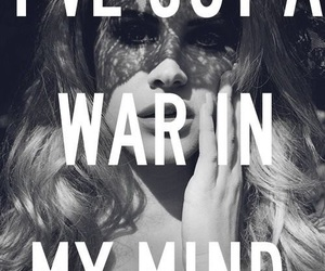 lana del rey, quote, and war image