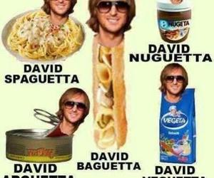 funny and david guetta image
