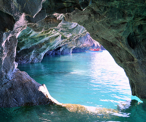 water, cave, and summer image