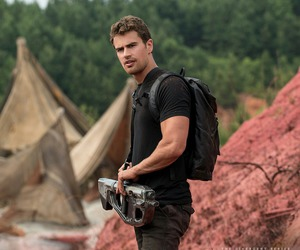 four, allegiant, and theo james image