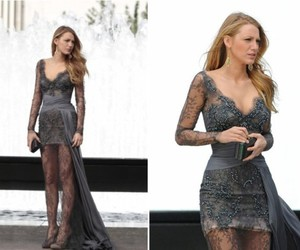 blake lively, dress, and girls image