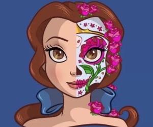 disney, bella, and princess image
