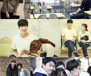drama, kdrama, and cheese in the trap image