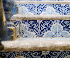 blue, color, and stairs image