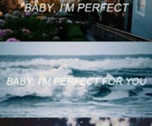 Lyrics, perfect, and one direction image