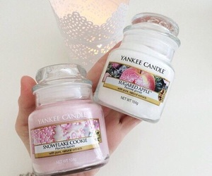 candle, pink, and bambi image