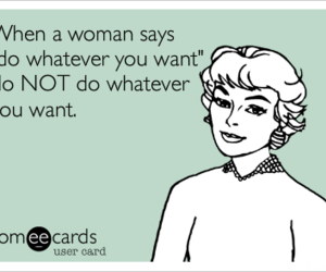 woman, funny, and text image