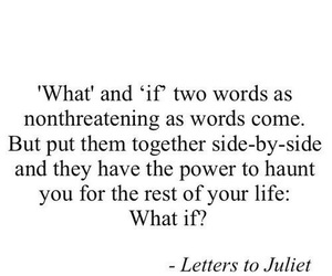 letters to juliet and quote image