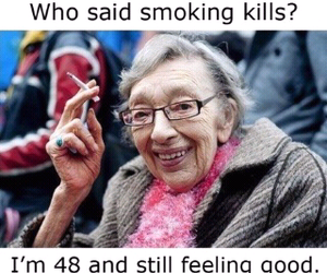 funny, lol, and smoking image