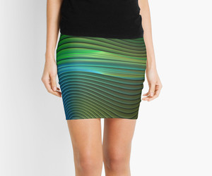 abstract design, pencil skirt, and hers image