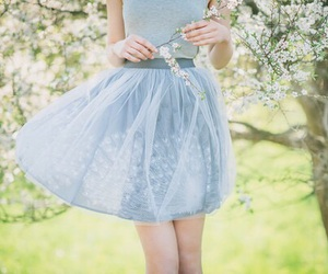 fashion, nature, and spring image