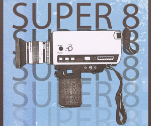 minimalist, movie, and super 8 image