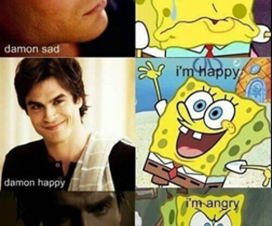 damon salvatore, tvd, and damon image