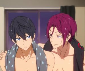 anime, gay, and rinharu image