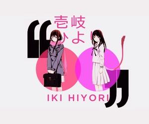 hiyori, noragami, and anime image