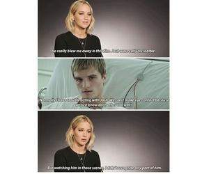 fandom, Jennifer Lawrence, and hunger games image