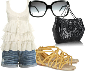 girl, glamour, and Polyvore image