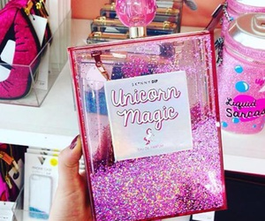 unicorn, bag, and pink image