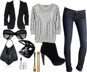 casual, Polyvore, and sunglases image