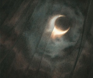 moon, theme, and dark image