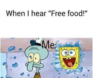 food, funny, and free image