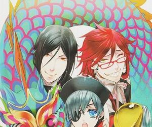 kuroshitsuji, anime, and ciel phantomhive image