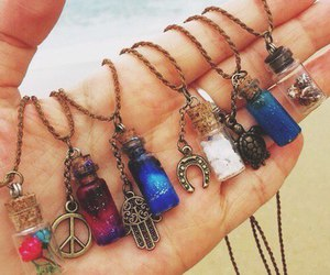 necklace, accessories, and peace image