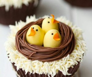 cupcake, easter, and food image