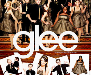 Archie, cory monteith, and glee cast image