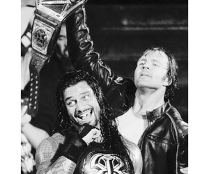 dean ambrose, roman reigns, and wwe image
