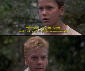 stand by me, kiefer sutherland, and river phoenix image