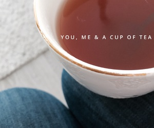 tea, me, and quote image