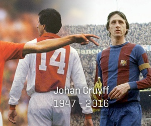johan cruyff, legend, and cancer image