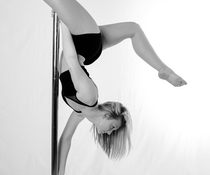 fitness, pole, and sports image