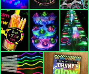 idea, neon, and party image